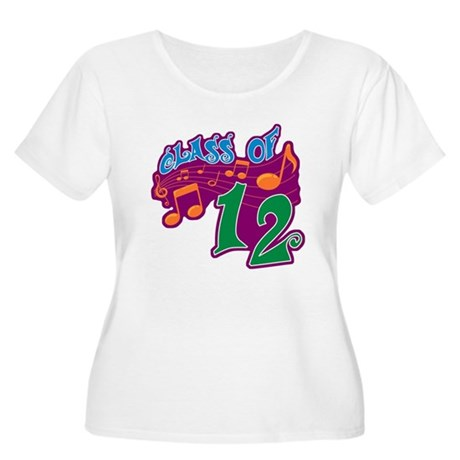 Class of 12 Musical Women's Plus Size Scoop Neck T
