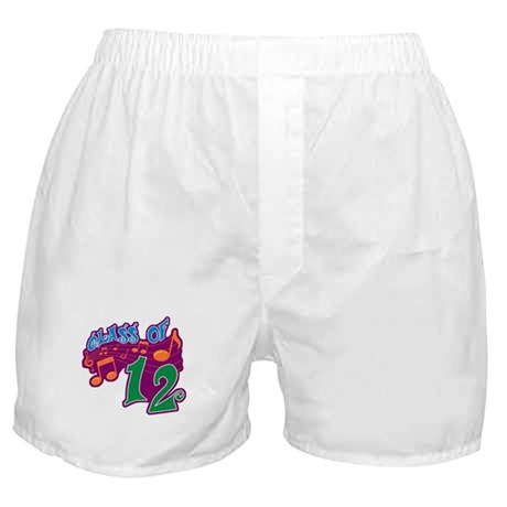 Class of 12 Musical Boxer Shorts