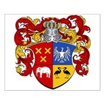 Bisschop Family Crest Small Poster