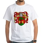Blankers Family Crest White T-Shirt