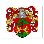 Blankers Family Crest Small Poster