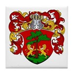 Blankers Family Crest Tile Coaster