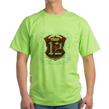 Class of 12 Shield Green T-Shirt