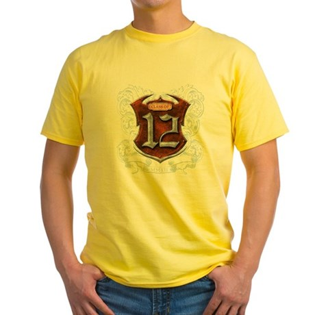 Class of 12 Shield Yellow T-Shirt