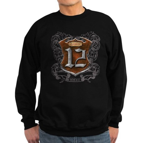 Class of 12 Shield Sweatshirt (dark)