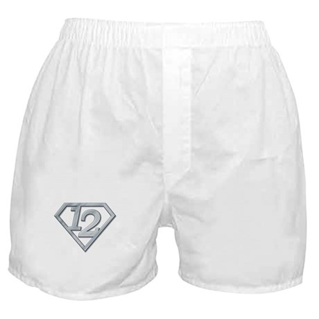 12 Superman Boxer Shorts