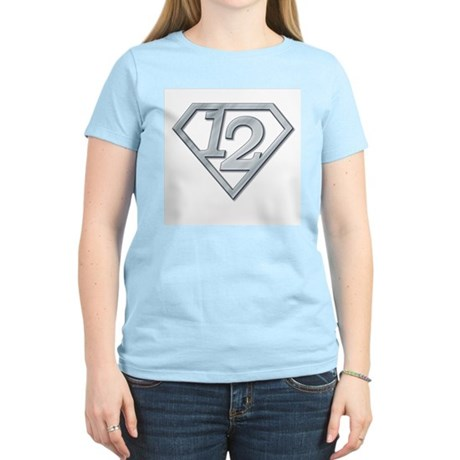 12 Superman Women's Light T-Shirt