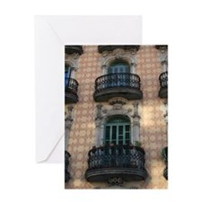 74_H_F-BarcelonaBCN_GreetingCard Greeting Cards
