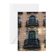 74_H_F-BarcelonaBCN_GreetingCard Greeting Cards