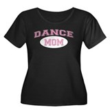 Pink Dance Mom Design for Mot Women's Plus Size Sc