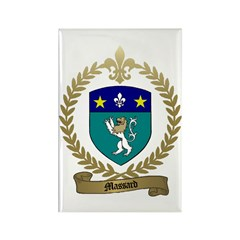 MASSARD Family Crest Rectangle Magnet