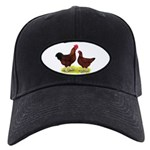 Red Broiler Chickens 2 Black Cap