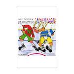 Where the Deer & the Antelope Play Hockey Mini Pos