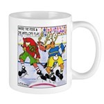 Where the Deer & the Antelope Play Hockey Mug