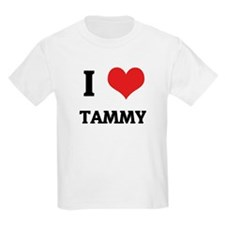 I Love Tammy Kids T-Shirt