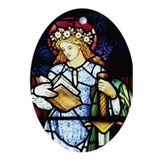 St Catherine of Alexandria Oval Ornament