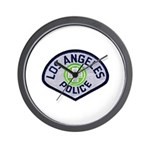 LAPD Traffic Wall Clock