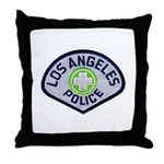 LAPD Traffic Throw Pillow