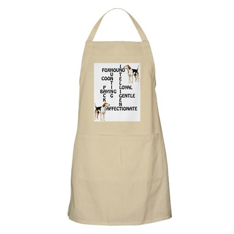 Foxhound Crossword BBQ Apron