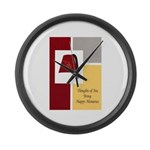 Shriner Greeting Large Wall Clock