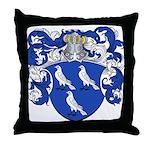 Braet Family Crest Throw Pillow