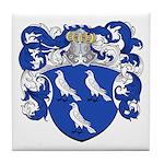 Braet Family Crest Tile Coaster