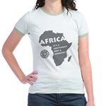 Africa Is A Continent Jr. Ringer T-Shirt
