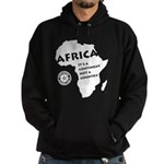 Africa Is A Continent Hoodie (dark)
