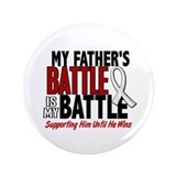 "My Battle Too 1 PEARL WHITE (Father) 3.5"" Button"