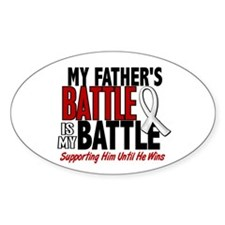 My Battle Too 1 PEARL WHITE (Father) Decal