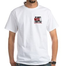 My Battle Too 1 PEARL WHITE (Mom) Shirt