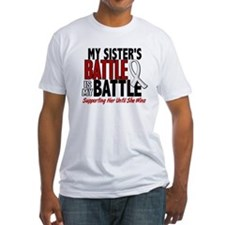 My Battle Too 1 PEARL WHITE (Sister) Shirt
