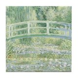 MONET Water Lily Pond 1897 Tile Coaster