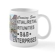"""The Wire """"B & B Enterprises"""" Small Mug"""