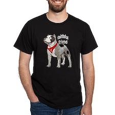 pitbull friend T-Shirt