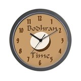 Funny bodhran Wall Clock