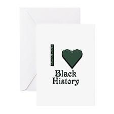 I Love Black History Greeting Cards (Pk of 10)