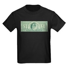 KE7 One Pound green T