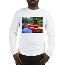 Chattahoochee River Kayaking Long Sleeve T-Shirt