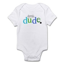 little dude. Infant Bodysuit