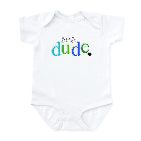 little dude. Infant Bodysuit