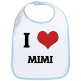 I Love Mimi Bib