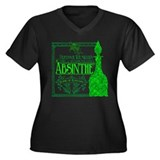 Prof. Wormwood Absinthe Women's Plus Size V-Neck D