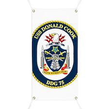 USS Cook DDG 75 Banner