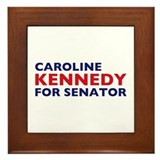Kennedy for Senator Framed Tile