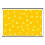 Retro Citrus Pattern Banner