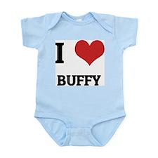 I Love Buffy Infant Creeper
