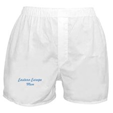 Eastern Europe mom Boxer Shorts