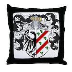 DeBoer Family Crest Throw Pillow