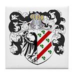 DeBoer Family Crest Tile Coaster